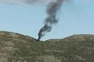 4 morți după ce un elicopter s-a prăbușit în Norvegia. O persoană e dată dispărută