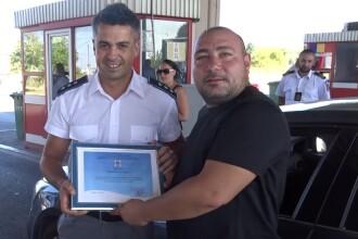 Cum a fost primit în țară românul care a salvat două vieţi din mare, în Bulgaria