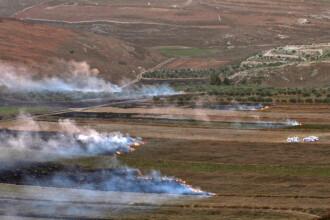 Schimb de tiruri de rachetă la granița Israel-Liban. Apel la SUA și Franța