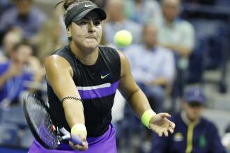 Bianca Andreescu s-a calificat pentru prima oară în sferturi la US Open