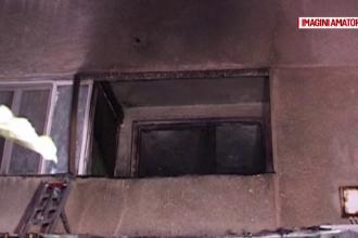 Panică într-un bloc din Drobeta Turnu Severin, după ce un apartament a luat foc