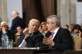 Tăriceanu a rămas fără grup parlamentar în Senat, după ce l-a dat afară pe Meleșcanu din ALDE