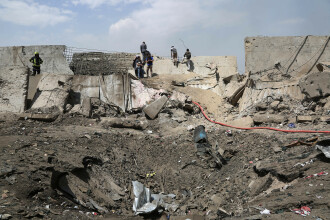 Imagini de la atentatul din Kabul, în care un oficial român a murit și altul a fost rănit