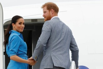 """Reacția prințului Harry, după ce a fost acuzat că zboară cu avioane private: """"Nimeni nu-i perfect"""""""
