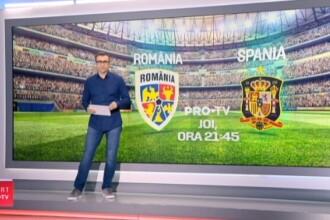 ROMANIA - SPANIA: Tatarusanu anunta un capitan surpriza la Nationala: