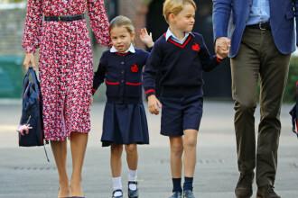 Prinţesa Charlotte, în vârstă de 4 ani, a început şcoala, în cartierul londonez Battersea