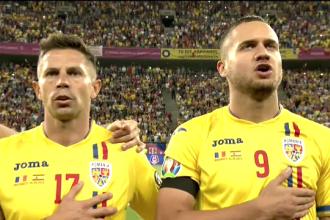 România - Spania. Momentul în care 50.000 de suporteri cântă imnul pe Arena Națională