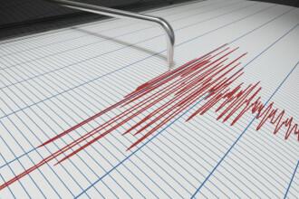Cutremur în România, vineri dimineață. S-a produs la o adâncime de 129 de kilometri