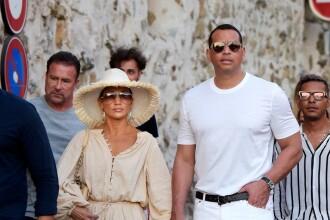 Jennifer Lopez, din nou în centrul atenției în St.Tropez. Nu a lăsat loc imaginației. FOTO