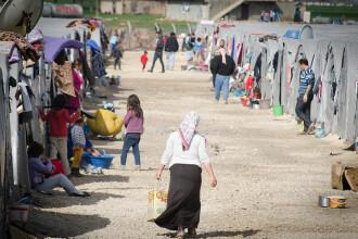 Copil român dintr-o tabără de refugiați din Siria, repatriat în siguranță. Anunțul MAE