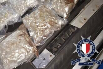 Doi frați români, prinși cu 31 de kg de droguri în Malta. Unde erau ascunse