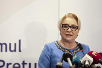 Dăncilă: Atitudinea opoziției, care nu vrea să voteze moțiunea în weekend, e jignitoare