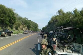 Armată a traficanţilor de droguri, oprită în Mexic înainte de a comite un masacru