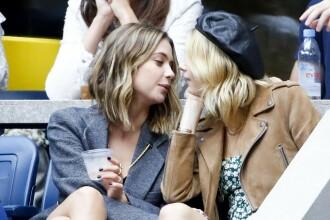Modelul surprins sărutându-și cu pasiune iubita în tribune la US Open. GALERIE FOTO