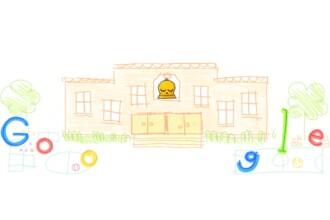 Google a creat un Doodle special pentru a marca deschiderea noului an școlar