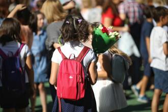 A început școala. Pentru prima dată din 1990, numărul elevilor a scăzut sub 3 milioane