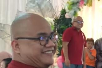 Un bărbat și-a găsit sosia la nunta unui prieten. Reacția invitaților