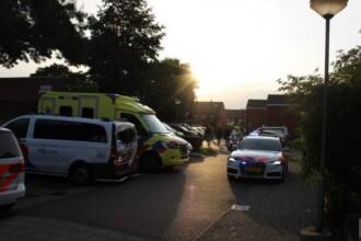 O mamă și cei doi copii ai ei, de 8 și 12 ani, uciși de un ofițer de poliție în Olanda