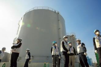 Japonia ar putea vărsa în mare apa contaminată de la Fukushima