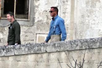 Daniel Craig, surprins la filmările pentru noul James Bond, în Italia. FOTO