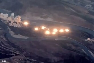 """Momentul în care SUA au lansat 36 tone de bombe într-o """"insulă infectată"""" a ISIS"""
