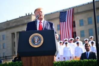 """18 ani de la 9/11. Trump amenință cu """"o forţă militară niciodată folosită în istorie"""""""