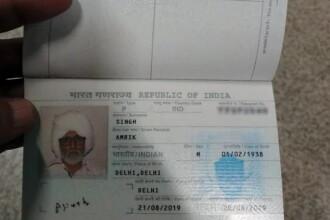 Un indian de 32 de ani s-a deghizat într-un bărbat de 81. Ce a urmat pe aeroport