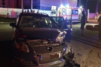 7 răniți după un impact frontal în Constanța. Printre victime, un copil de 12 ani. VIDEO