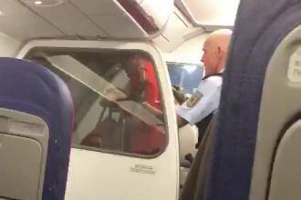 Aterizare de urgenţă la Frankfurt din cauza unor pasageri români. Ce au făcut în avion