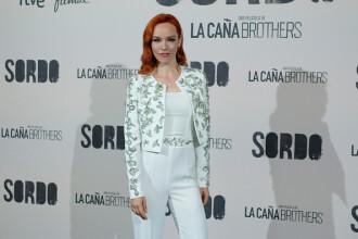 """Actriţa Olimpia Melinte, pe covorul roşu al premierei """"Sordo"""" de la Madrid. FOTO"""