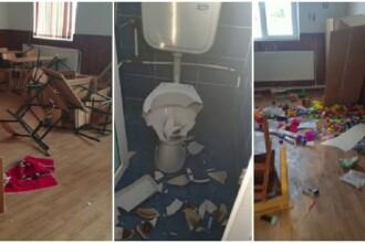 Indignare după vandalizarea școlii din Clejani. Ce măsuri cer sindicaliștii
