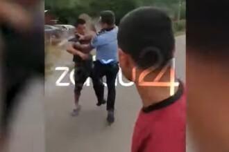 Bătaie între localnici și polițiști, în Sălaj. De la ce a pornit conflictul