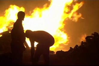Amplu incendiu de vegetație, în Portugalia. Patru pompieri au fost răniți