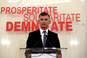 """Steriu (PSD): """"Moţiunea e o Fata Morgana. Orban numără voturile ca-n Caragiale"""""""