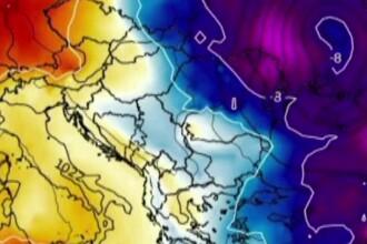 Un val de aer polar cuprinde România. Temperaturile vor scădea și sub 0 grade