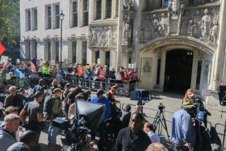 Audieri la Curtea Supremă în dosarul suspendării Parlamentului de către premierul Johnson