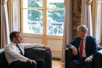 """Macron şi Cioloş, discuții despre echipa Von der Leyen: """"Nu dau niciun cec în alb"""""""