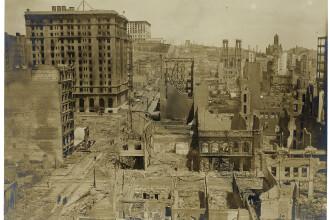 Imagini rare cu dezastrul produs de cutremurul devastator din 1906, din San Francisco