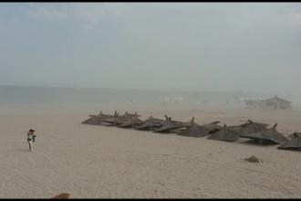 Vremea rea a făcut ravagii pe litoralul românesc