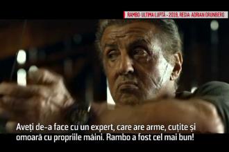 Sylvester Stallone revine pe marile ecrane în rolul lui Rambo, la 73 de ani
