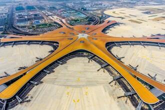 Imagini cu mega-aeroportul construit de chinezi. Cât a costat și în cât timp a fost făcut