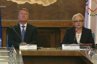 """Iohannis și Dăncilă, contre după decizia CCR. """"Mergem în Parlament, dar nu când ne spun alţii"""""""