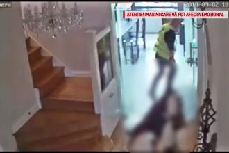 Imagini șocante din UK: un român târăște 2 femei inconştiente înainte să le jefuiască