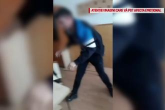 Bătaie între 2 elevi de la un liceu din Gorj. Victima a fost lovită cu piciorul