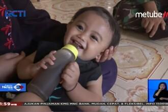 Motivul revoltător pentru care o familie îşi hrăneşte copilul cu cafea în loc de lapte.