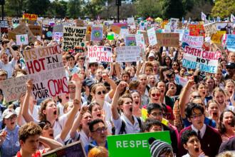 Proteste la nivel mondial. Sute de mii de oameni au cerut măsuri împotriva încălzirii globale