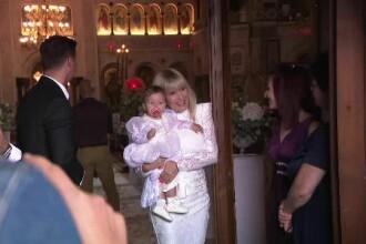 Elena Udrea și-a botezat fetita la o mănăstire din București. Dana Budeanu, una din nașe