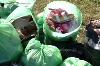 Let's do it, România! Voluntarii au strâns zeci de saci de gunoaie