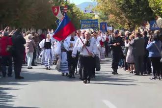 Saşii fugiţi din România s-au întors pentru câteva zile.
