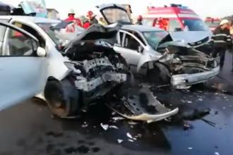 O tânără de 25 de ani a murit într-un accident în Brașov. Alte 6 persoane au fost rănite
